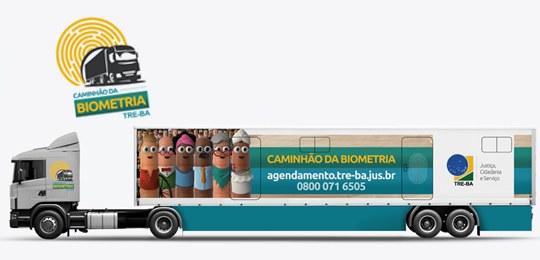 TRE-BA Perto de Você: Caminhão da Biometria atenderá eleitores em diversas localidades
