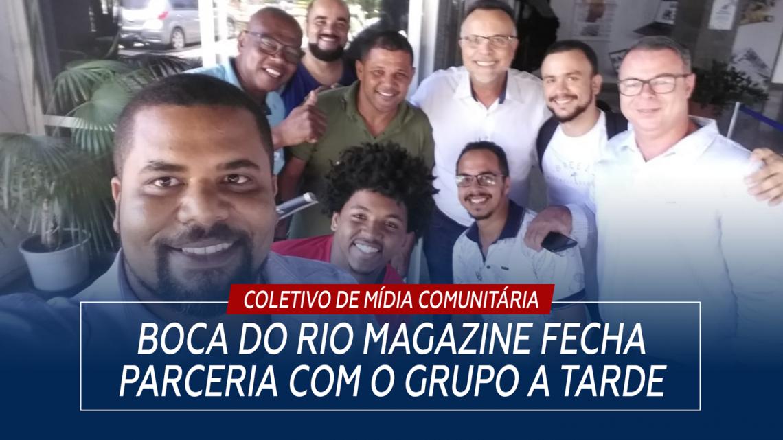 Boca do Rio Magazine fecha parceria com o Grupo A Tarde