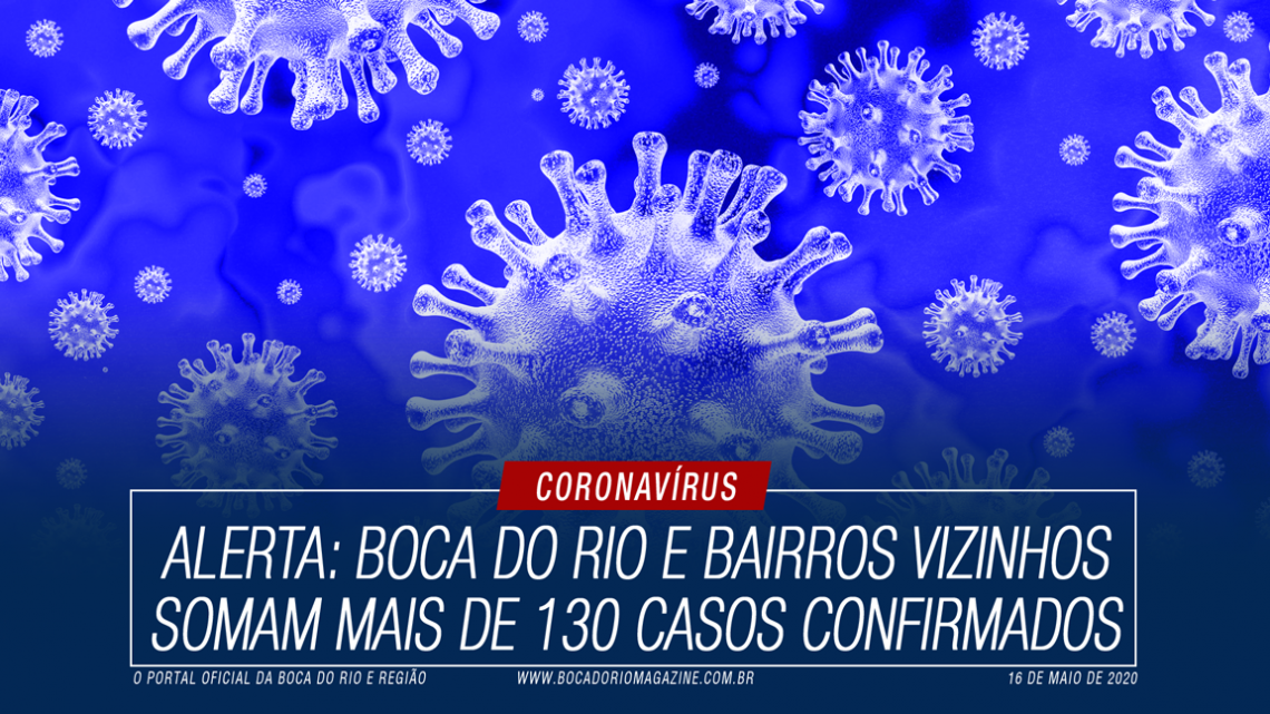 Alerta: Boca do Rio e bairros vizinhos somam mais de 130 casos confirmados de Covid-19