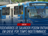 Greve Onibus Salvador