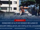 Lixo Alto do Sossego Boca do Rio