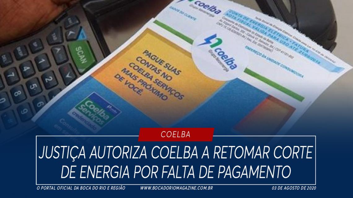 Justiça autoriza Coelba a retomar corte de energia por falta de pagamento