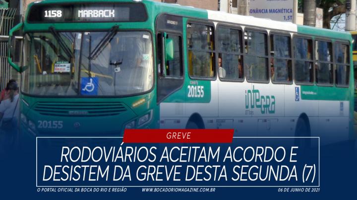 Rodoviários aceitam acordo e desistem da greve desta segunda (7)